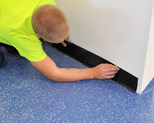 Commercial Vinyl Borders Features And Coving Fitting